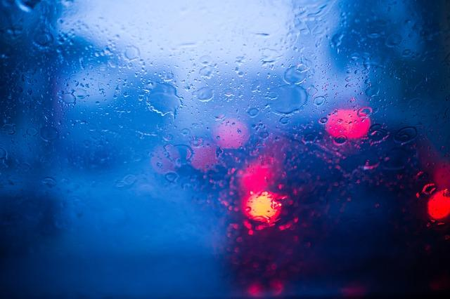 rain, raining, windshield